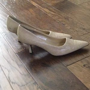Rampage Shoes - Cream heels